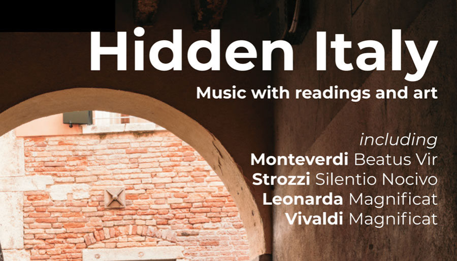 Hidden ItalySaturday 16 November 2019